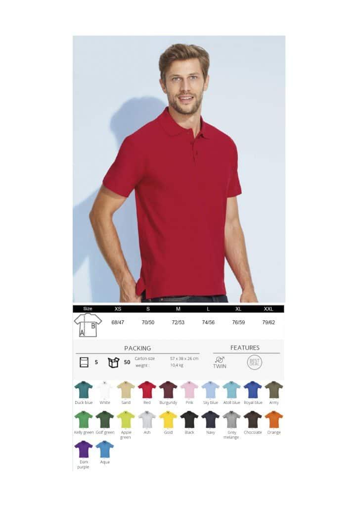 Vyriški polo marškinėliai 170