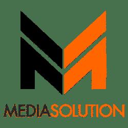Media Solution naujas logotipas